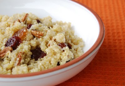 Vegetarian breakfast quinoa