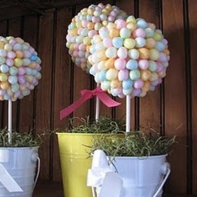 Jelly bean topiary